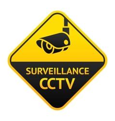 Cctv sign video surveillance symbol vector