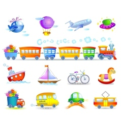 Types of transport vector