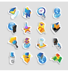 Icons for technology and interface vector