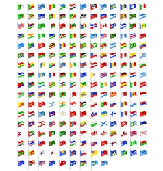 Set icons flags of the world countries vector