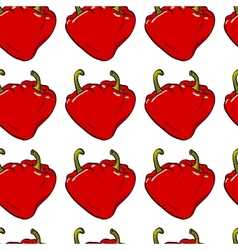 Pepper heart seamless vector