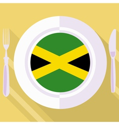 Kitchen of jamaica vector
