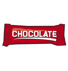 Package for chocolate and sweets vector