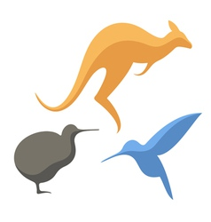 Australian animals vector