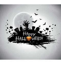 On a halloween theme vector