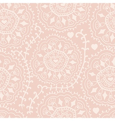 Retro background lace seamless pattern ornate vector
