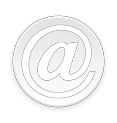 Email button vector