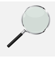 Magnifying glass search icon vector