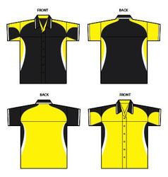 Sporty shirt vector