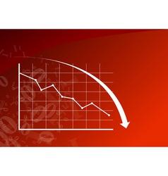 Graph down vector