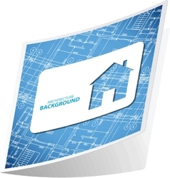 Architecture background sticker 3 vector