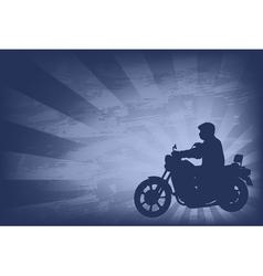 Motorcyclist background 2 vector