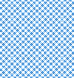 Blue table cloth seamless pattern vector