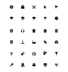 Mini icons 4 vector