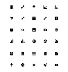 Mini icons 7 vector