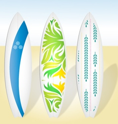 Surfboards surf boards surfing boards vector