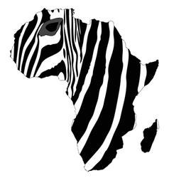 Africas zebra vector