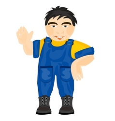 Man worker vector