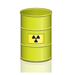 Toxic barrel vector