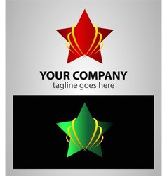 Start up star shape concept elements icon logo vector