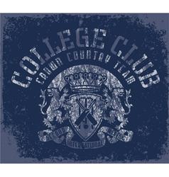 Collegeclub vector