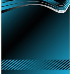 Abstrack blue background vector