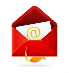 Outbox mail icon vector