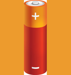 Battery photo-real vector
