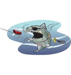 Bad azz fish 2 vector