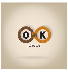 Handshake abstract symbol vector