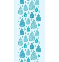 Rain drops textured seamless pattern background vector