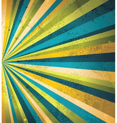 Vintage burst background vector