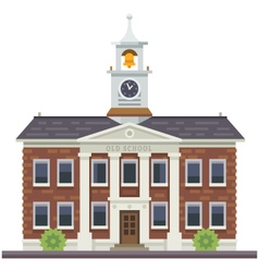 School or university building vector