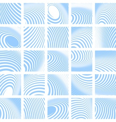 Abstract backdrops set vector