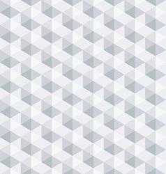 White geometric seamless pattern background vector