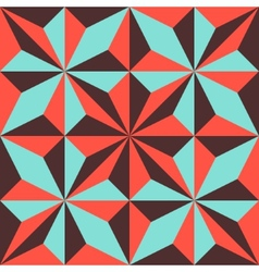 Abstract geometric polygonal background composed vector
