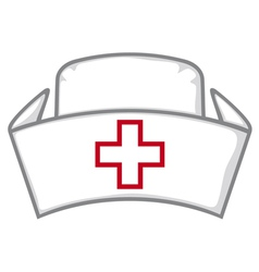 Nurse cap vector