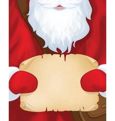 Santa postman vector