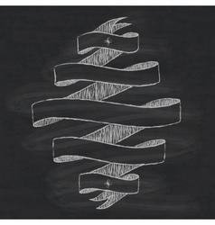 Chalkboard design element vector