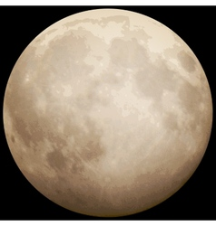 Full moon taken on 13 july 2014 eps 10 vector