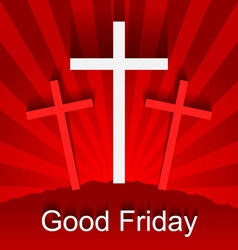 Good friday vector