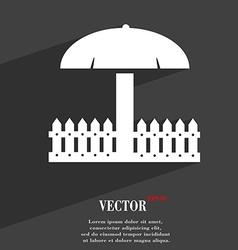 Sandbox icon symbol flat modern web design with vector