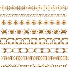 Graphic border vector