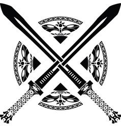 Fantasy swords third variant vector