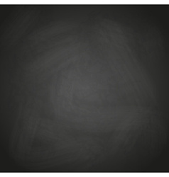 Empty retro black chalkboard background eps10 vector