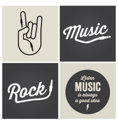 Music type font music type font vector
