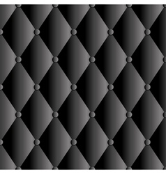Abstract black upholstery background vector