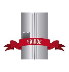 Fridge design vector