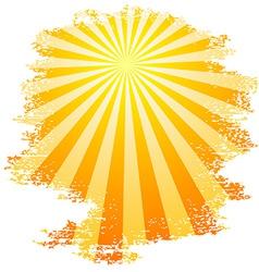 Sunbeams vector