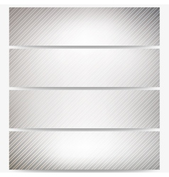 Abstract headers set diagonal repeat straight vector